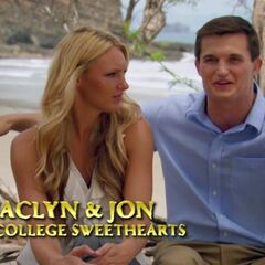 Jaclyn and Jon on <a href=