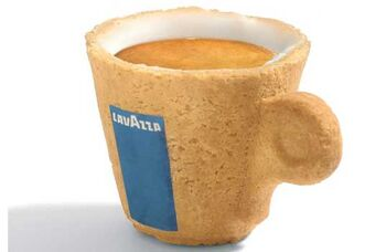 Edible Coffee Cup 2