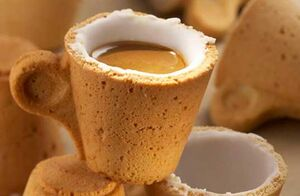 Edible Coffee Cup