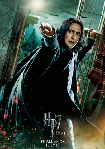 File:Snape; DH Part 2 Poster.png