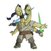Troig Jedi by everydaybelze