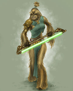 Female Wookiee