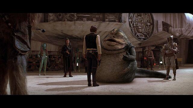 File:Jabba the Hutt ''negotiates'' with Han Solo.jpg