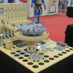 LEGO Cloud City platform.