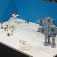 LEGO Battle of Hoth.