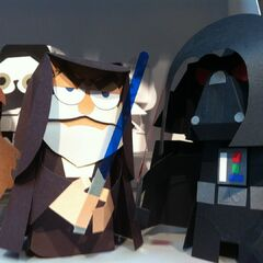 <i>Star Wars</i> in puppet form.