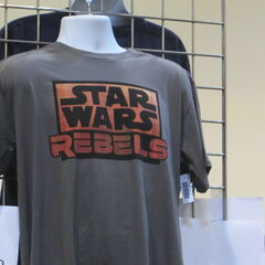 A <i>Rebels</i> t-shirt was on sale already!