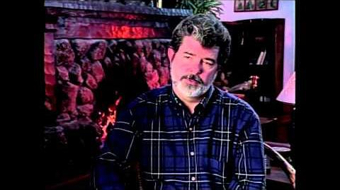 George Lucas Interview Aerial Dogfights in Star Wars