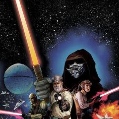 <i>The Star Wars</i> #1, Doug Wheatley cover