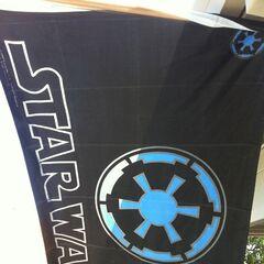 An Imperial banner.