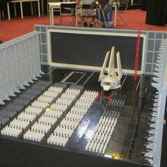 LEGO Death Star II hangar.