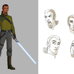 Kanan facial concepts