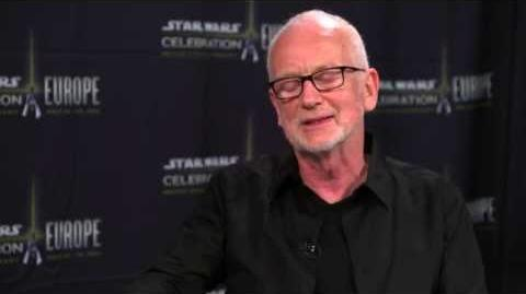 Star Wars Celebration Europe - Words with Warwick Ian McDiarmid
