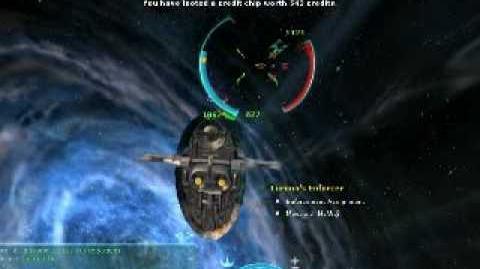 Star Wars Galaxies - Flying the KSE Firespray
