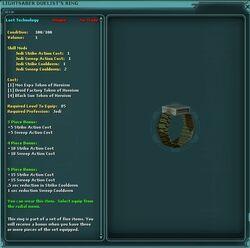 Lightsaber.Duelist's.Ring