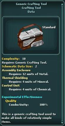 GenericCraftingTool