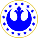 New Republic Army Symbol (From Raising of the Flag on Coruscant Victory)