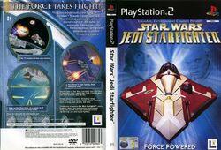 Star Wars Jedi Starfighter Dvd pal-