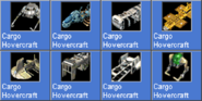 CargoHovercraft icons