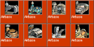 Airbase icons