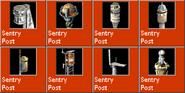 SentryPost icons