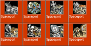 Spaceport icons