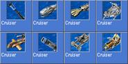 Cruiser icons