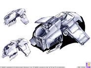 Gunship bomber art