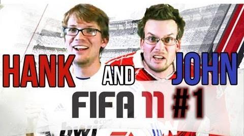 Hank and John Play FIFA11 1 Liverpool v