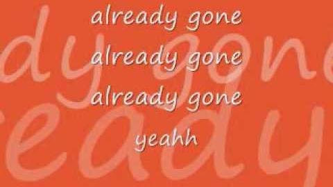 Kelly Clarkson- Already Gone (Lyrics)