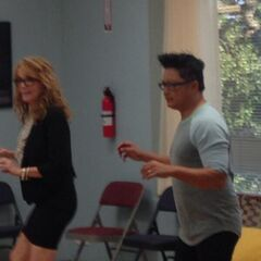 Kathryn and Renzo Tap dancing