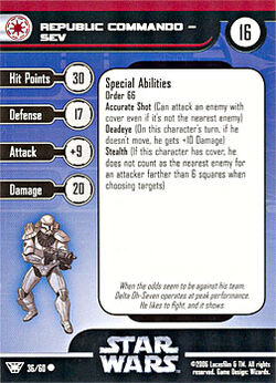 36 CF Card Republic Commando - Sev