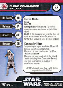 21 CF Card Clone Commander Bacara