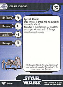 39 CF Card Crab Droid