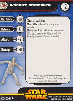 22 RVS Card Wookiee Berserker