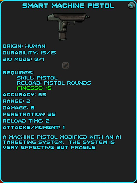 IGI Smart Machine Pistol