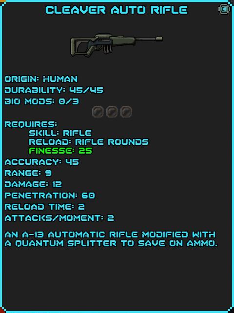 IGI Cleaver Auto Rifle