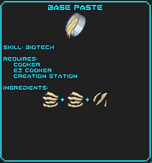 Base Paste Recipe