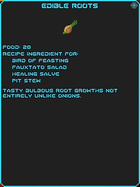 IGI Edible Roots