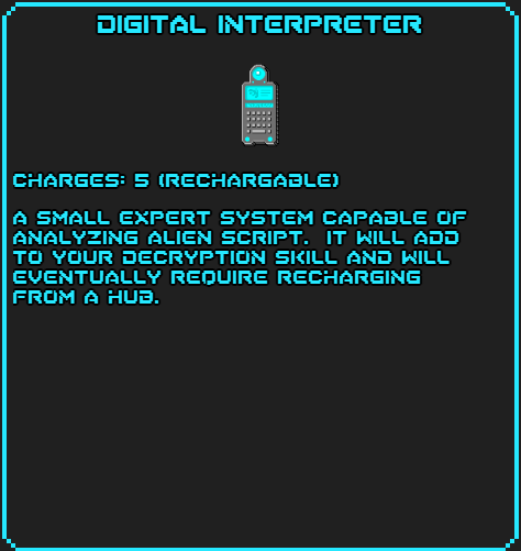 Digital Interpreter info