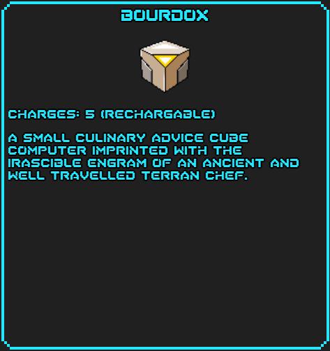 Bourdox info