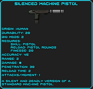Silenced Machine Pistol