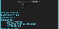 Silenced Machine Pistol