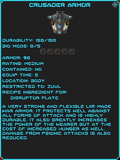 IGI Crusader Armor