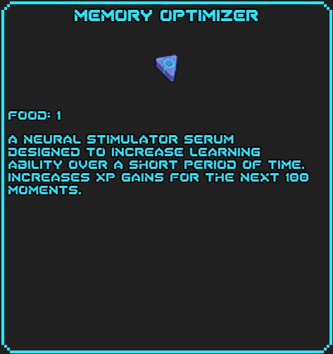 Memory Optimizer info