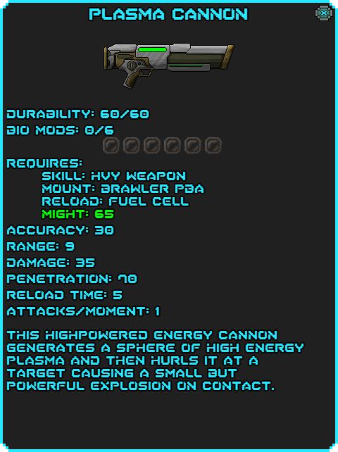 Plasma Cannon Info