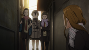 Endou's group bullying Shino