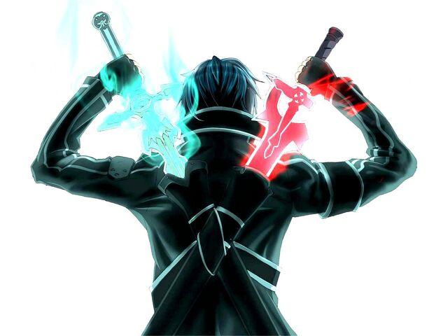 File:Sword-art-online-kirito-swords Dragon Slayers.jpg