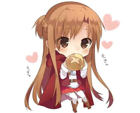 File:Chibi Asuna eating bread.jpg