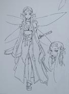 Abecs Artworks art book Sakuya concept